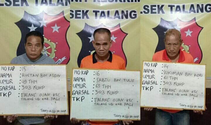 Hobby Judi Togel, Tiga orang ditangkap. Duanya Berusia Lanjut