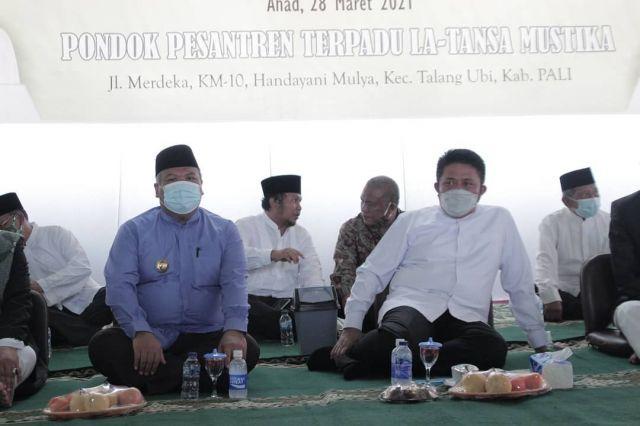 Gubernur Sumsel Dan Penjabat Bupati PALI hadiri Tahfidz  di Ponpes La Tansa Mustika