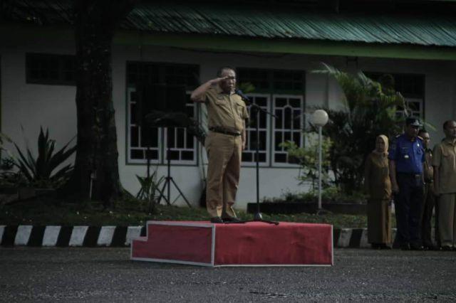 Sekda Tegaskan Agar Disiplin Kerja Menjadi Prioritas Pegawai Pemkab PALI