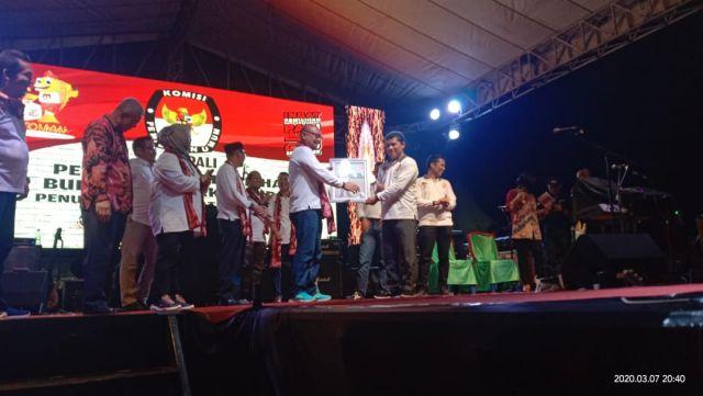 Meriahnya Launching Pilkada PALI 2020