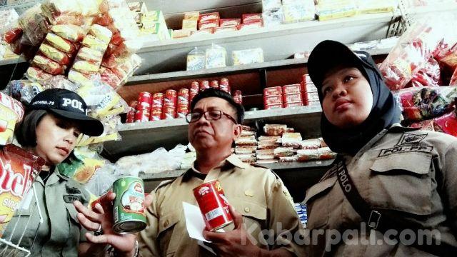 Cari Sarden Bercacing, Disperindag PALI Sidak Minimarket