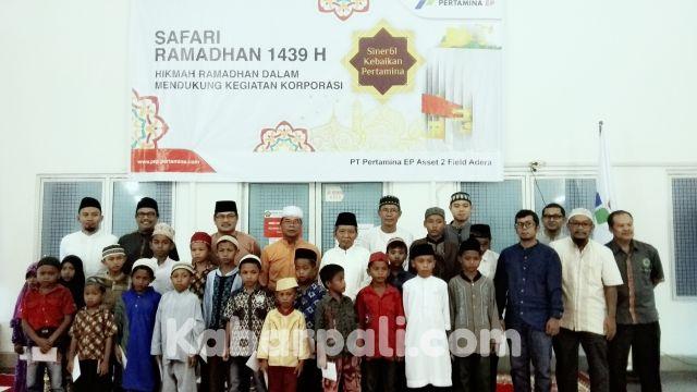 Safari Ramadhan, Adera Field Santuni 100 Anak Yatim
