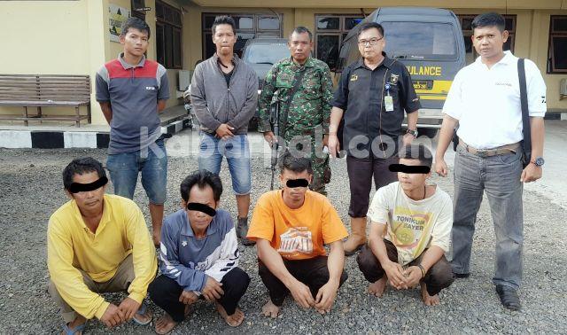 Satu Truk Pipa Curian Berhasil diamankan Security Adera Field dan Kepolisian
