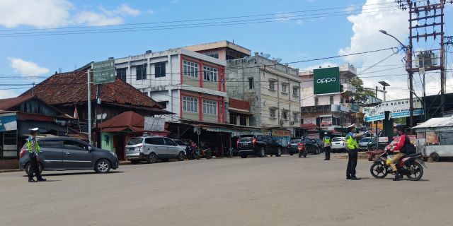 Polres PALI Himbau Pengendara Jelang Ops Patuh Musi 2020