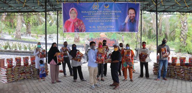 Sri Kustina : Serap Aspirasi di Tengah Pandemi