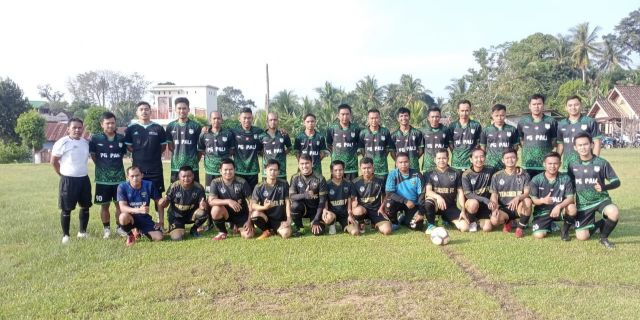 Pererat Siraturahmi, Tim Sepakbola PG PALI Hadiri Undangan Tim Teacher FC Talang Ubi