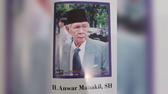Innalillahi.. H Anwar Mahakil, Ketua Presidium PALI Berpulang ke Rahmatullah