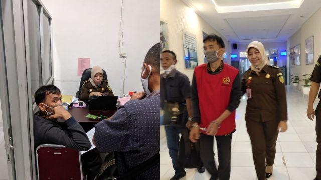 Kasus Dugaan Korupsi di DPRD PALI Bergulir, Sekwan DPO Bendahara ditahan