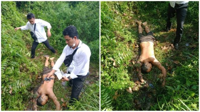 Jadi Bandar Sabu, Mantan Kades Tersungkur ditembak Polisi