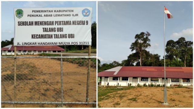 Kamriadi : Gedung SMPN 9 Talang Ubi Sekarang Sudah dipakai
