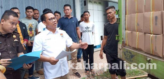 Dicetak di Bogor, Surat Suara Telah Tiba di PALI