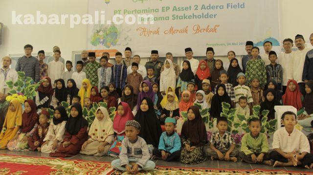 Safari Ramadhan, Adera Field Santuni 250 Anak Yatim