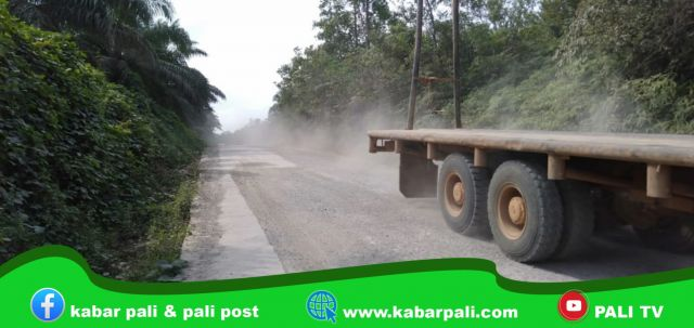 Perbaikan Belum Selesai, Debu Bersemburan dari Armada Logging MHP