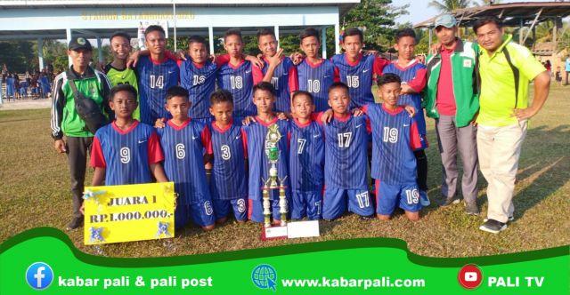 SMP Negeri 1 Tanah Abang Sabet Juara GSI Kabupaten PALI