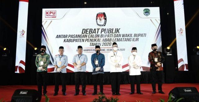 KPU PALI Gelar Debat Publik Paslon Bupati dan Wakil Bupati