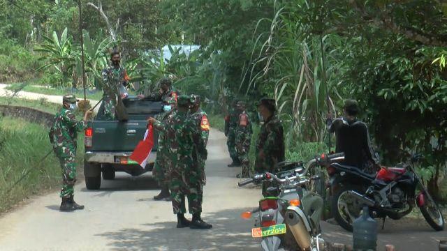 Tidak Pasang Bendera, Rumah Warga di PALI didatangi Aparat TNI