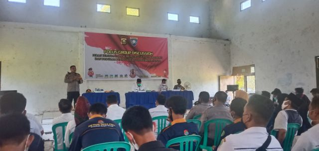 Ajak Pemuda Sukseskan PSU, Polres PALI Gelar FGD