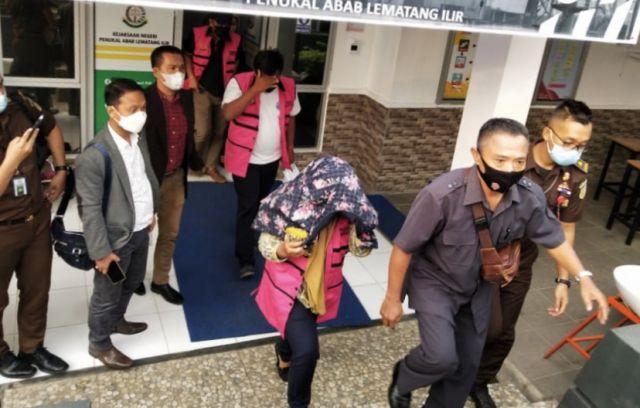 Tiga Tersangka Korupsi Normalisasi Sungai Akhirnya diamankan Kejari PALI